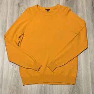 Theory 100% cashmere dijon sweater